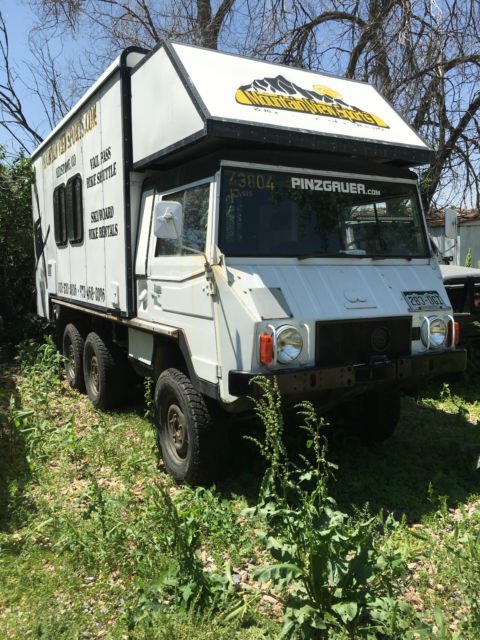 1981 steyr puch pinzgauer 712m 6x6 ultimate off road camper expedition vehicle for sale photos. Black Bedroom Furniture Sets. Home Design Ideas