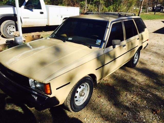 1981 toyota corolla wagon tinted runs good 5 speed for sale photos technical specifications. Black Bedroom Furniture Sets. Home Design Ideas