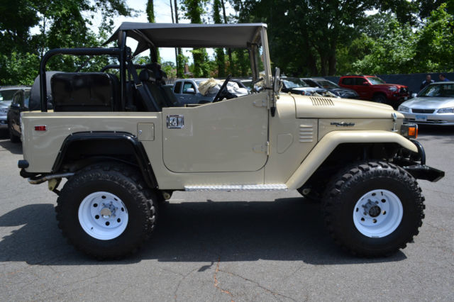1981 Toyota Land Cruiser Fj40  4wd  2dr  Soft Top  Hard Top For Sale  Photos  Technical