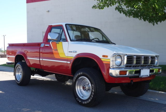1981 Toyota Pickup Sr5 Hilux 4x4 1 Owner For Sale