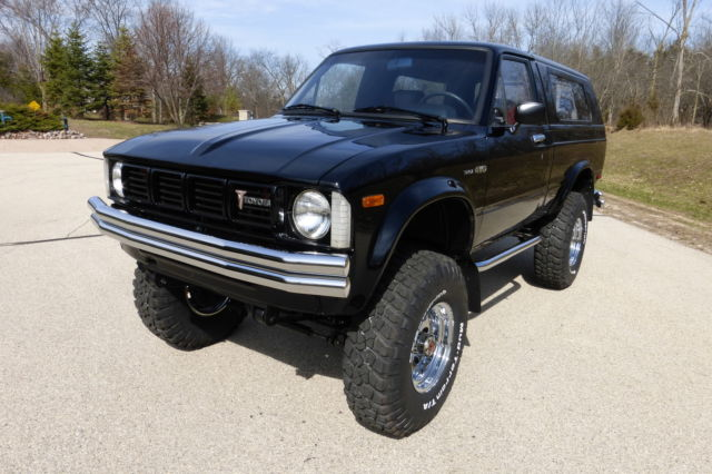 1981 toyota trekker 4wd ultra rare toyota 39 s 1st pickup for 22r toyota motor for sale