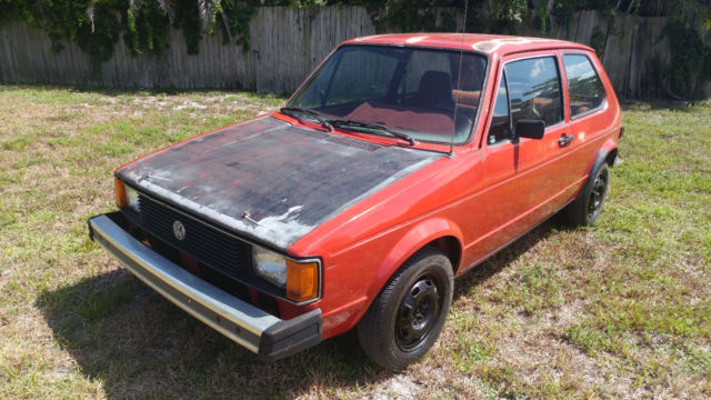1981 volkswagen rabbit diesel for sale photos technical specifications description. Black Bedroom Furniture Sets. Home Design Ideas