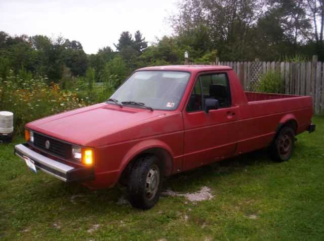 1981 Volkswagen Pickup rabbit