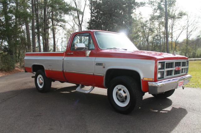 1981 82 83 84 85 86 87 Gmc K2500 Sierra Classic 4x4 Diesel
