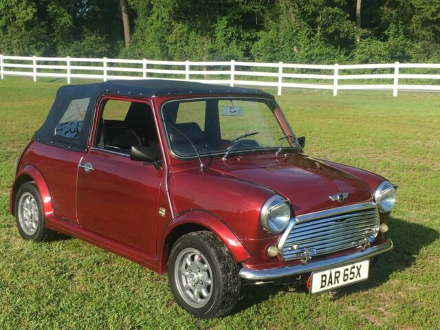 1982 Austin Morris Leyland Mini With A Keiths Convertible