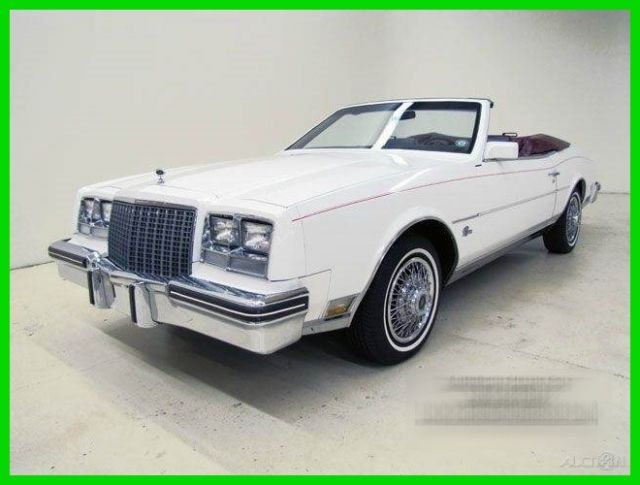 1982 Buick Riviera Base 2dr Convertible