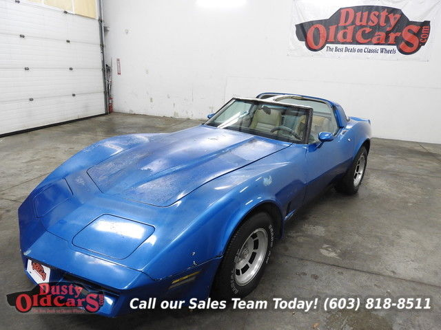 1982 Chevrolet Corvette Runs Drives Body Int Good Season Ready