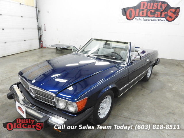 1982 Mercedes-Benz SL-Class Runs Drives Body Interior VGood Hardtop Incl