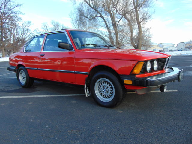 Used Cars Longmont >> 1982 BMW 320i Henna Red Sport Package for sale: photos ...