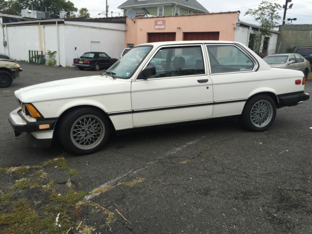 1982 bmw 320is - e21- alpine white coupe -pick up only for sale ...