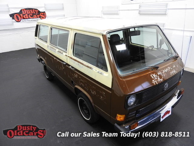 1982 Volkswagen Bus/Vanagon Runs Drives 1.6L Diesel Body Int Good