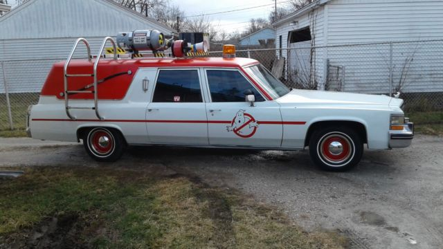 1982 cadillac hearse ghostbusters ecto 1 for sale photos