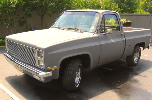 1982 Chevrolet C-10 Short Wheelbase