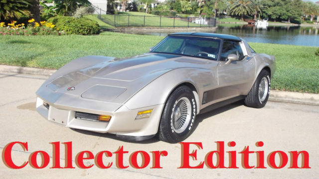 1982 Chevrolet Corvette Collector Edition  LOW SHIPPING
