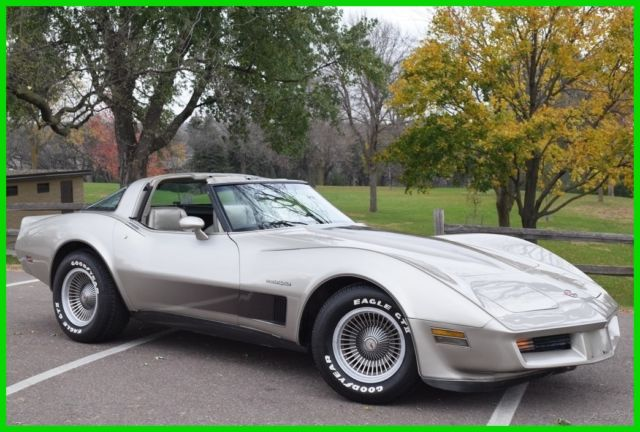 1982 Chevrolet Corvette 1982 Chevrolet Corvette Collectors Edition 45k Miles