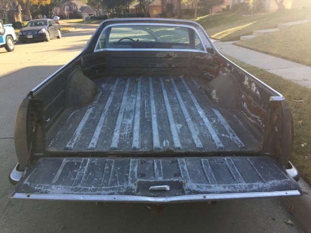 1982 Blue Chevrolet El Camino pick up pick up with Blue interior