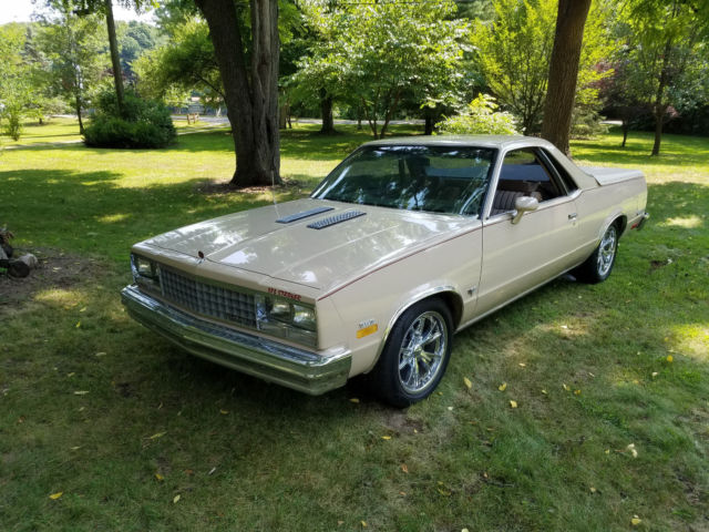 1982 Chevrolet El Camino Chrome