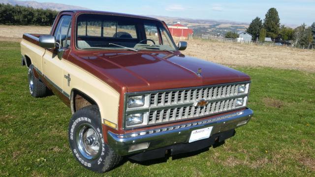 1982 Chevrolet Silverado K10 4x4 For Sale Photos Technical