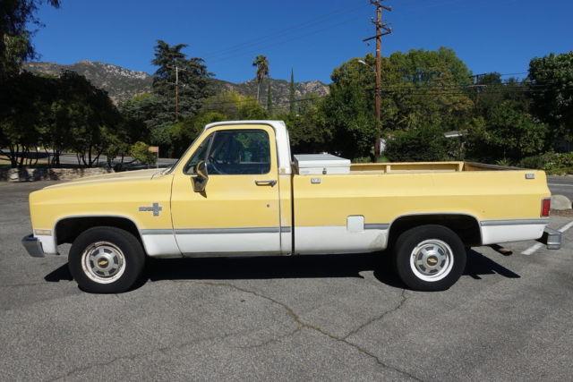 1982 Chevrolet Silverado Pickup Truck 2wd 2dr C20 Vintage Classic