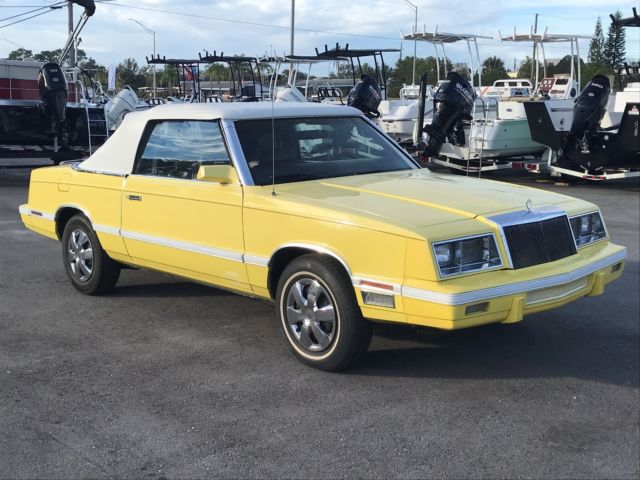 1982 Chrysler LeBaron Convertible