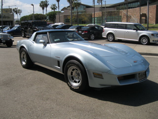 1982 Corvette Stingray Muscle Car Survivor Chevrolet