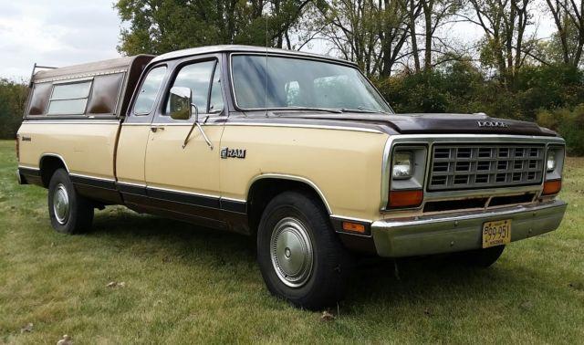 1982 Dodge Ram D250, Royal SE Prospector, Parts only for sale