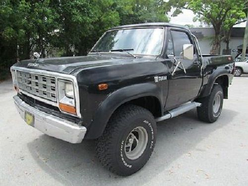 1982 dodge ram w150 prospector short bed pick up for. Black Bedroom Furniture Sets. Home Design Ideas