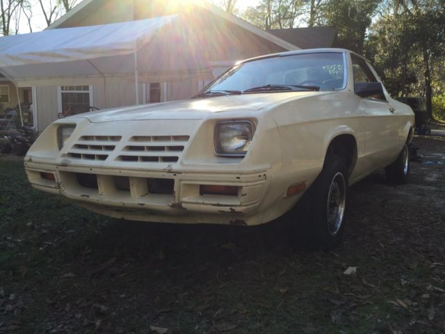 1982 Dodge Rampage