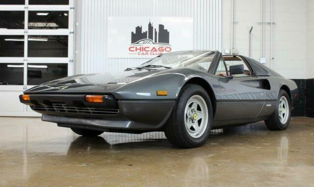 1982 Grigio Metallic 700 Ferrari 308 GTSi 17k Miles, Records, VIDEO with Red interior