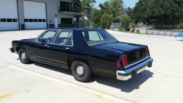 1982 Ford Crown Victoria Ltd Police Interceptor For Sale