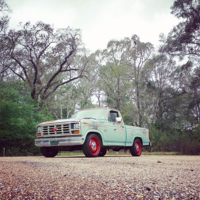 1982 ford f150 f100 rat rod no reserve for sale photos technical specifications description. Black Bedroom Furniture Sets. Home Design Ideas