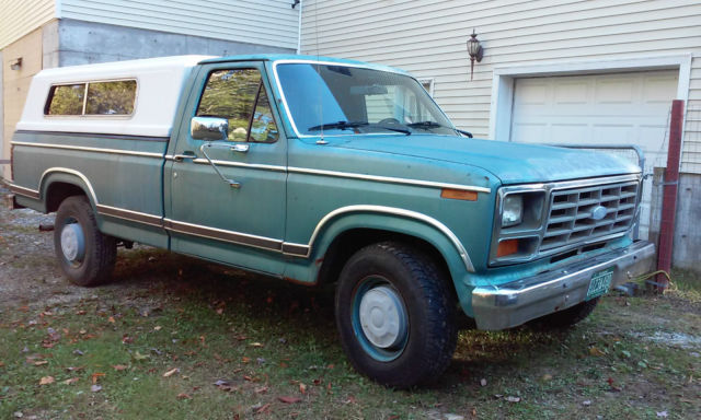 1982 ford f250 xlt pick up truck for sale photos