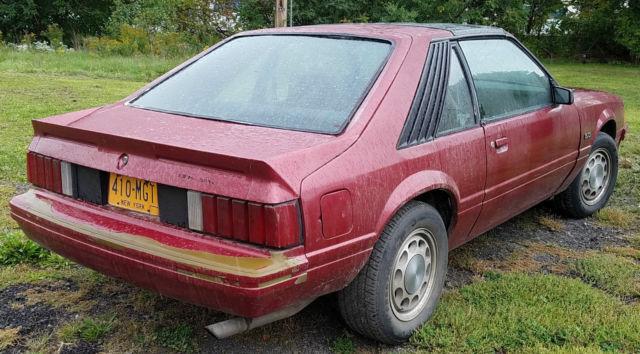 1982 ford mustang gt 302 v 8 4 speed t top roof for sale. Black Bedroom Furniture Sets. Home Design Ideas