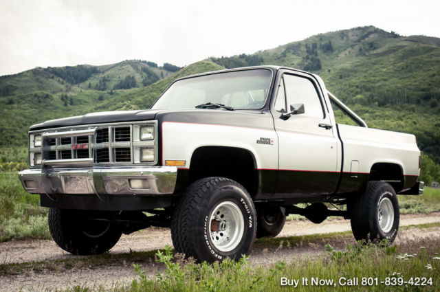 1982 GMC Other K10 4X4 Chevy Crate 4-Bolt Main 350 V8 SHOP TRUCK