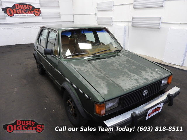 1982 Volkswagen Rabbit LS Runs Drives 5spd man Fac AC Body Int Good