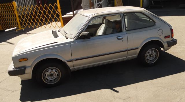 1982 Honda Civic Dx