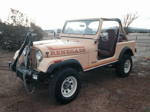 1982 Jeep CJ RENEGADE