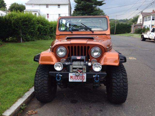 1982 jeep cj7 ford 5 0l f i  ford 9 u0026quot  rear and dana 44