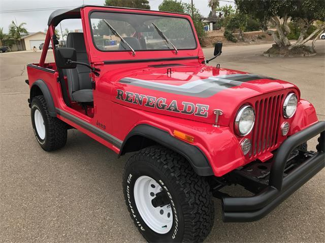 1982 Jeep CJ CJ7 RENEGADE