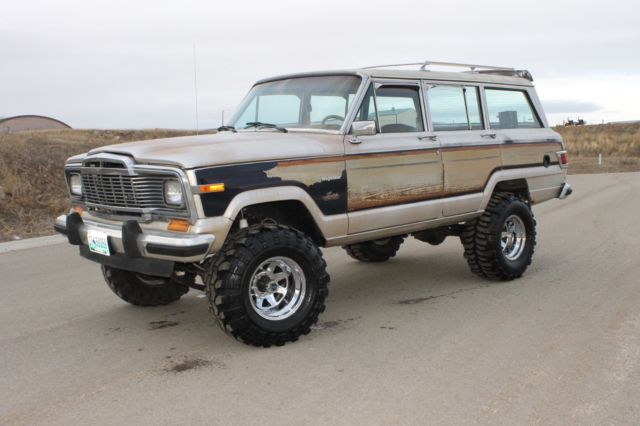 1982 Jeep Grand Wagoneer Limited 4x4 Lifted Runs Like A