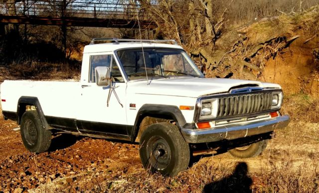 1982 jeep j20 pickup 4spd for sale photos technical specifications rh topclassiccarsforsale com