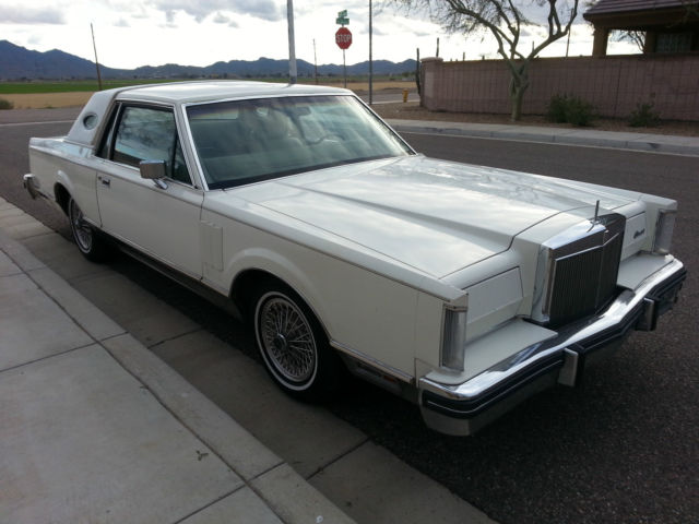 1982 Lincoln Mark Series CONTINENTAL MARK VI CARTIER 56K MILES-LOW RESERVE