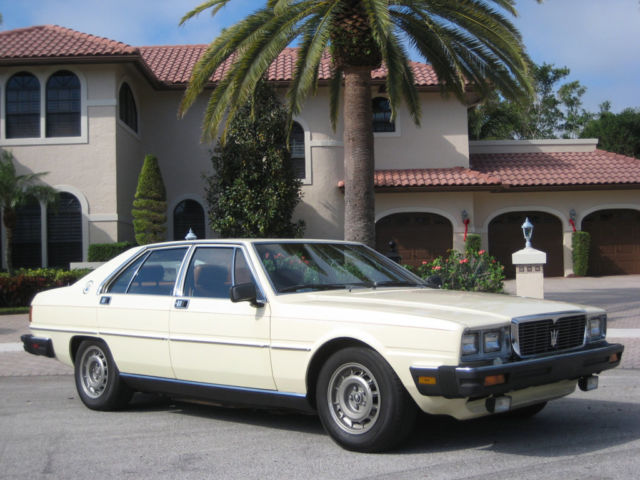 1982 Maserati Quattroporte VERY RARE CLASSIC VEHICLE - RUNS INCREDIBLY WELL