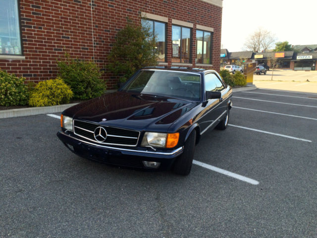 1980 Mercedes-Benz 500-Series