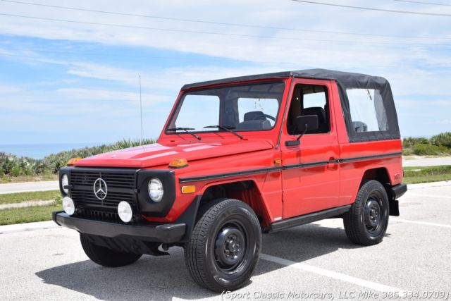 1982 Mercedes-Benz G-Class Turn Key G-Wagon! Fresh Paint, Service and Tires