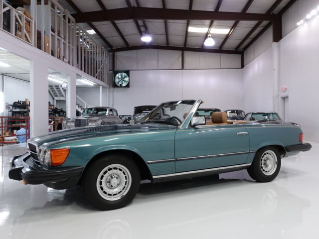 1982 Mercedes-Benz 300-Series 380SL ROADSTER, ONLY 48,496 ACTUAL MILES!