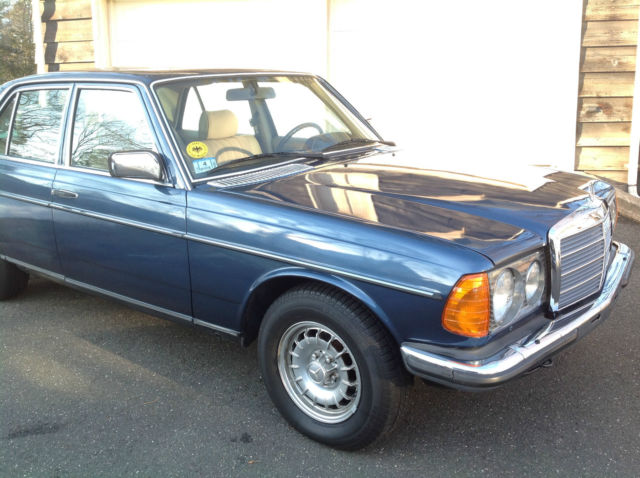 1982 mercedes benz w123 280e sedan german import southern for Mercedes benz house of imports service