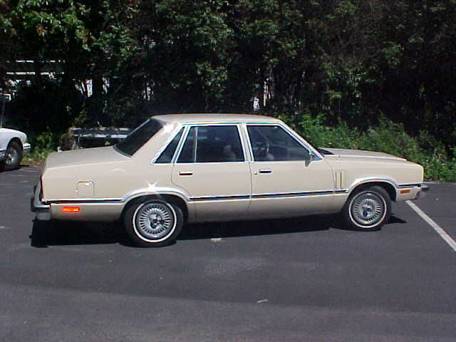 1982 Mercury Other GS