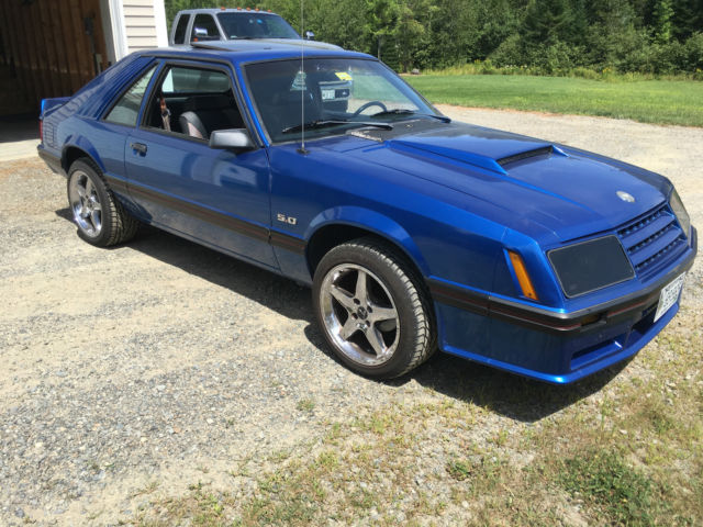1982 mustang gt 5 0 4 speed manual trans 88000 miles laser straight and no rust for sale. Black Bedroom Furniture Sets. Home Design Ideas