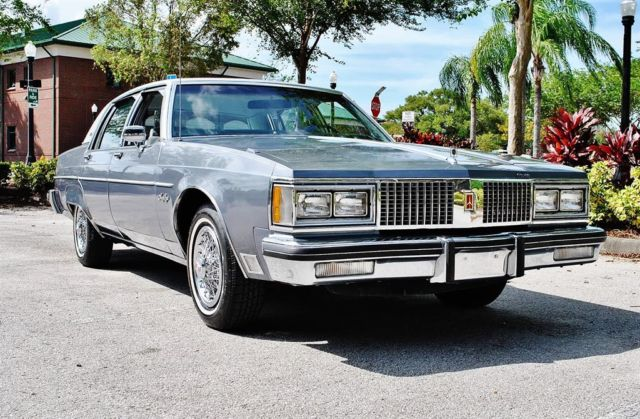 1982 Oldsmobile Ninety-Eight Brougham 52k Original Miles Loaded 2-Owner